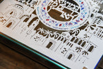 Personalized Jerusalem Challah board