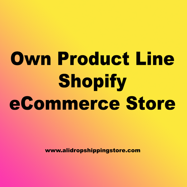 We Will Make You a Beautiful Shopify eCommerce Store For Your Business