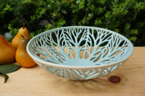 Woodland Bowl in Aqua