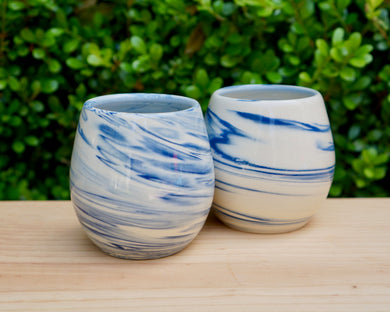 Marbled Wine Cup