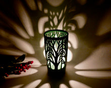 Load image into Gallery viewer, Woodland Table Lamp in Forest Green
