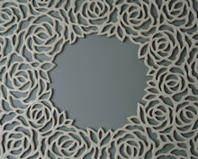 Load image into Gallery viewer, Rose Wreath Wall Art