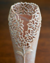 Load image into Gallery viewer, Rose Vase in Frosted Pink- Large
