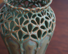 Load image into Gallery viewer, Art Nouveau Vase 3