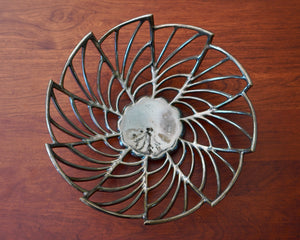 Art Deco Fan Bowl