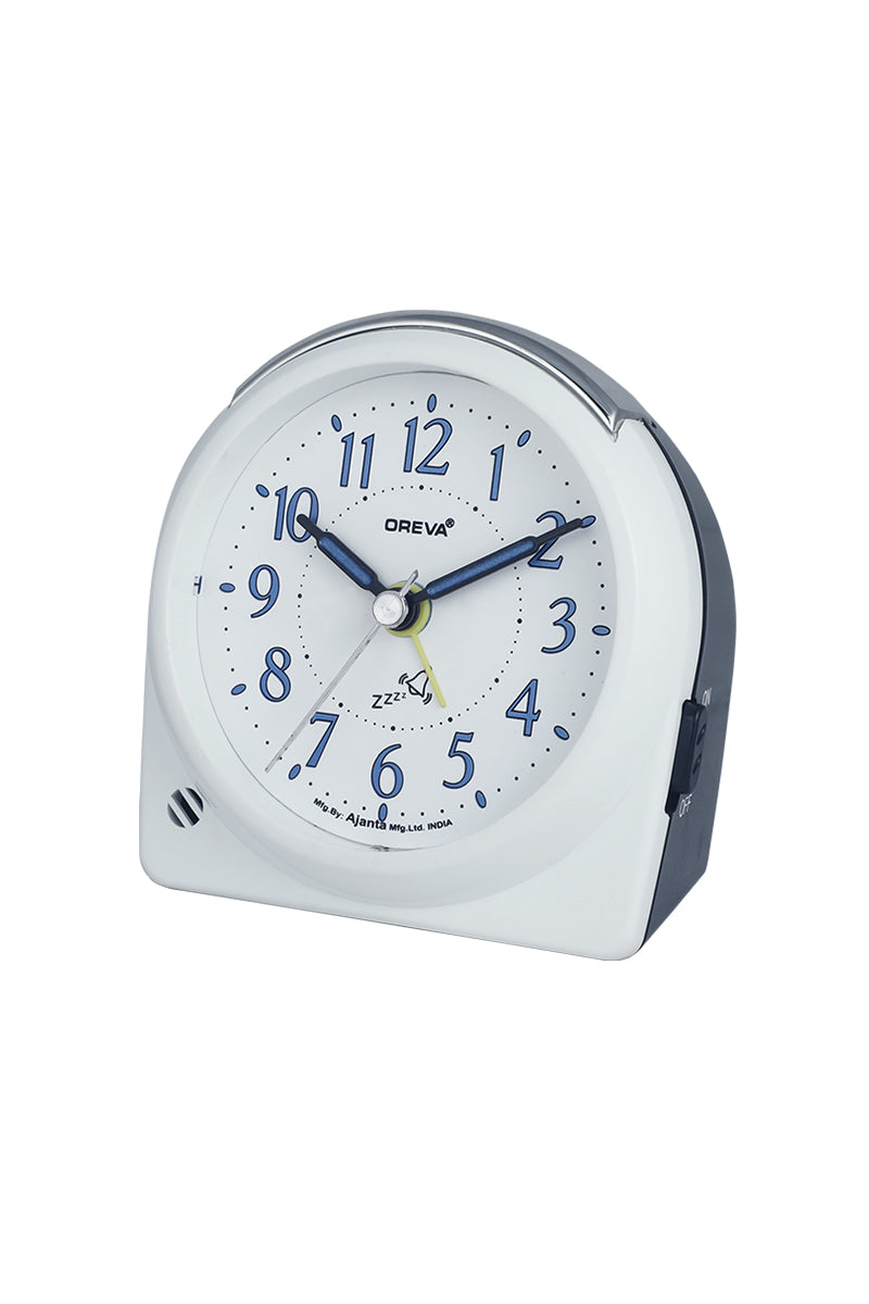 AA-3087-ALARM CLOCK B.BLUE,YELLOW,PISTA GREEN,PINK,BLACK,WHITE,RED