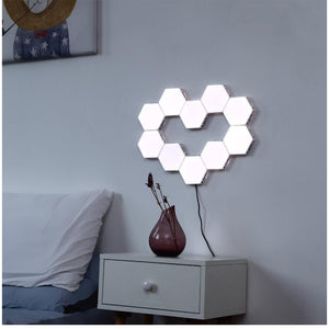 Quantum Honeycomb Wall Lights-Lighting-SAAY