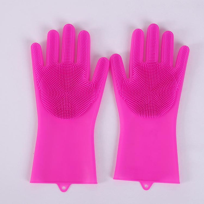 Silicone Scrubbing Gloves-Kitchen-SAAY