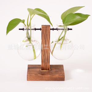 Wooden Hydroponic Plant Swing-Decor-SAAY