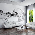 430cmX300cm photo wallpaper Smoke clouds abstract artistic wall paper modern minimalist bedroom sofa TV wall mural paper painting,430cmX300cm