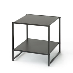 Zinus Modern Studio Collection 20 Inch Square Side/ End Table/ Night Stand/ Coffee Table, Espresso