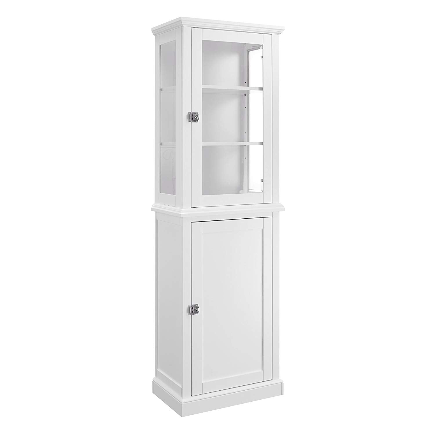 Scarsdale Tall Bathroom Cabinet — White