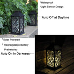 Sunlane Solar Lantern Lights,Outdoor Hanging Lamp,Waterproof 30 Warm White LEDs Copper Wire Fairy String Lights Lawn Patio Yard Pathway Walkway Courtyard Garden