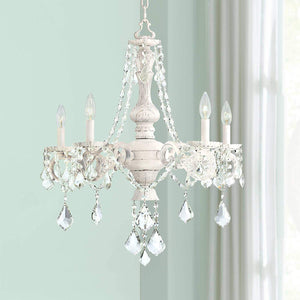 "Kathy Ireland Chateau de Conde 26"" Wide 5-Light Chandelier"