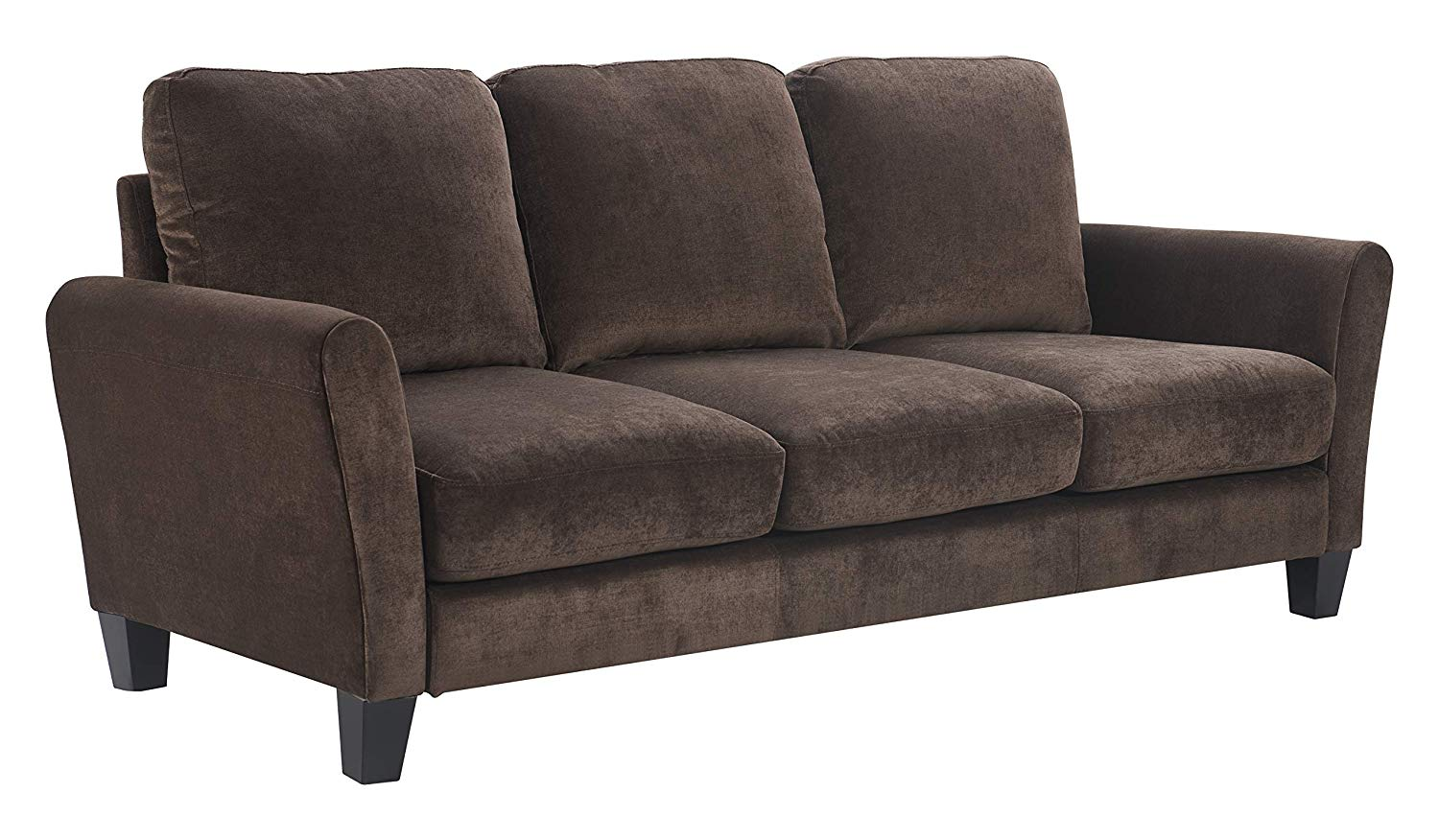"Serta Deep Seating Astoria 78"" Sofa in Concord Tan"