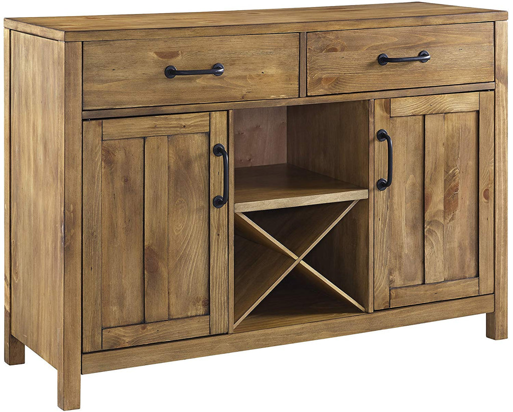 Crosley Furniture Roots Buffet Dining Room Storage - Natural