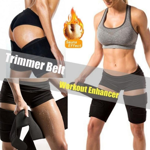 Image of Thermo Neoprene Leg Thigh Shaper Sauna Warmer Compress Belt
