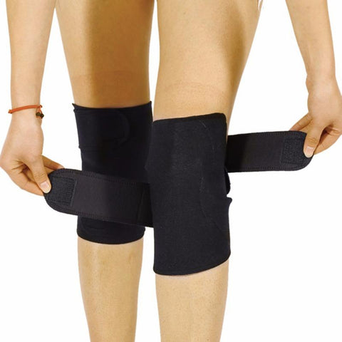 Image of Thermal Therapy Warmer Tourmaline Magnetic Knee Brace Support Protector