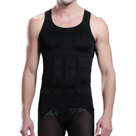 Image of Men's Quick Dry Body Waist Shaper Tank Tops