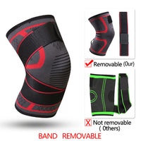 Fitness Band Removable Pressurized Knee Pads Braces Protector Support
