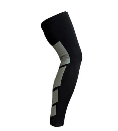 Image of Silicone Pro Breathable Sports Long Knee Brace Support (1 Piece)