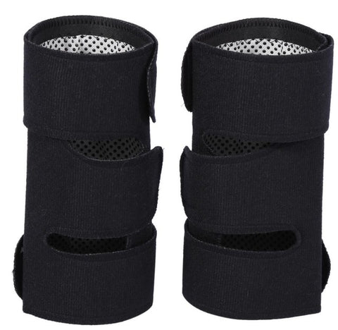Image of Self Heating Knee Pads Magnetic Therapy Knee Pad Brace Support (1 Pair)