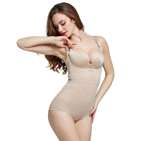 Image of Waist Body Shaper Trainer Bodysuit Shapewear