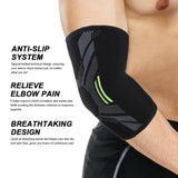 Elbow Brace Compression Support Sleeve Pad Tendonitis Protector Reduce Pain
