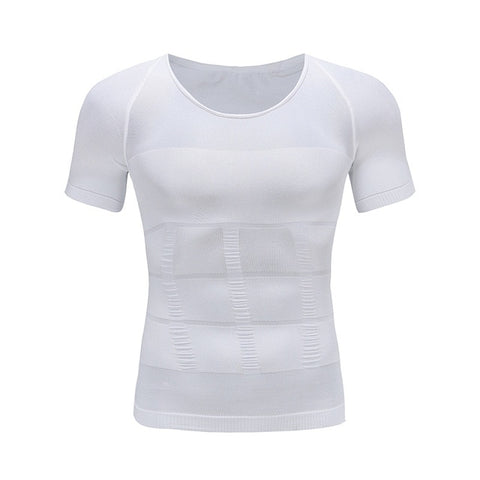 Men's Slimming Body Shaper Posture Corrector T-Shirt