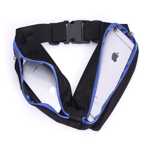 Image of Fitness Nylon Waist Pack Bum Hip Belt