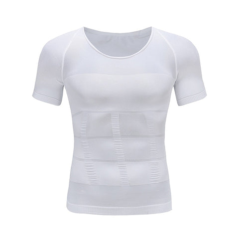 Image of Men's Slimming Body Shaper Posture Corrector T-Shirt