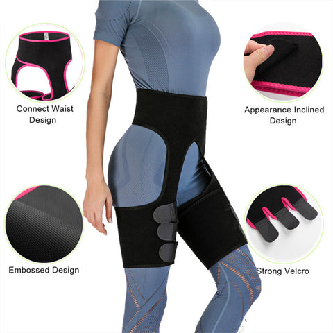 Image of Hip Enhancer Leg Slimming Corsets Waist Shaper Trainer Butt Lifter Body Slim Belt