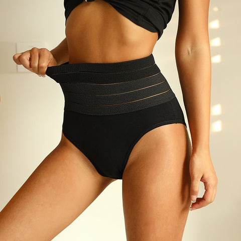 Image of Breathable High Waist Panties Body Shaper