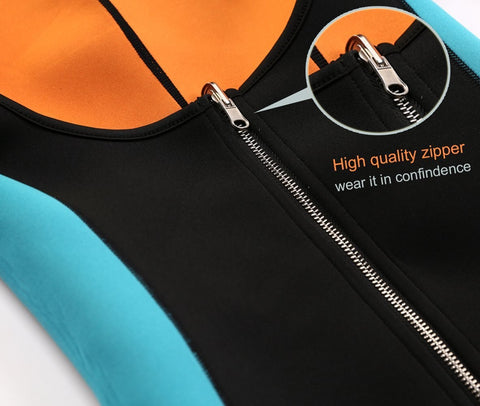 Image of Neoprene Body Shaper Sauna Bodysuits