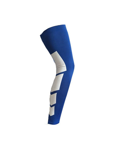 Silicone Pro Breathable Sports Long Knee Brace Support (1 Piece)