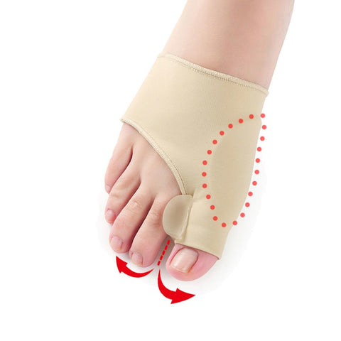 Image of Toe Separator Valgus Corrector Orthotics Feet Thumb Adjuster Correction