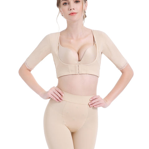Image of Upper Arm Shaper Chest Supports Compression Posture Corrector Shapwear