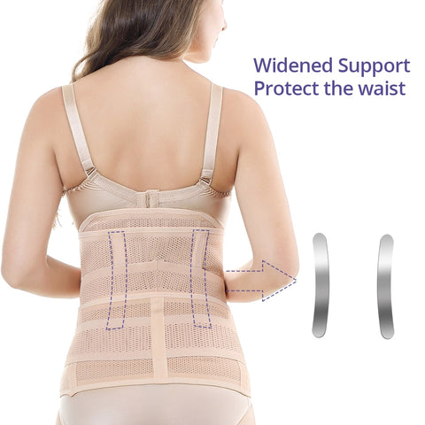 3 in 1 Belly/Abdomen/Pelvis Postpartum Shapewear Slim Breathable Waist Trainer Corset