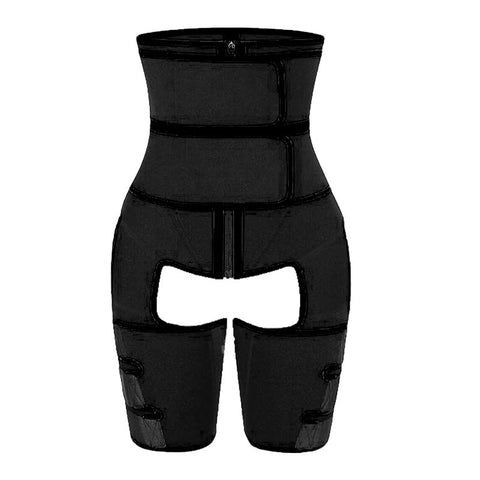 Image of Adjustable High Waist Thigh Neoprene Sweat Shapewear