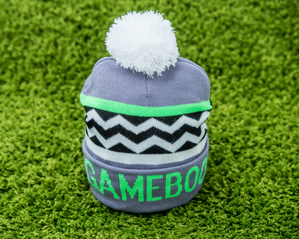 Happy player logo beanie