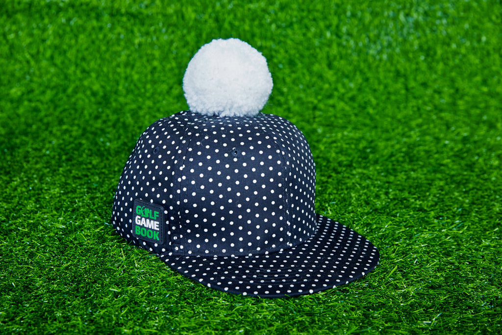 Super player Golf ball dotted cap