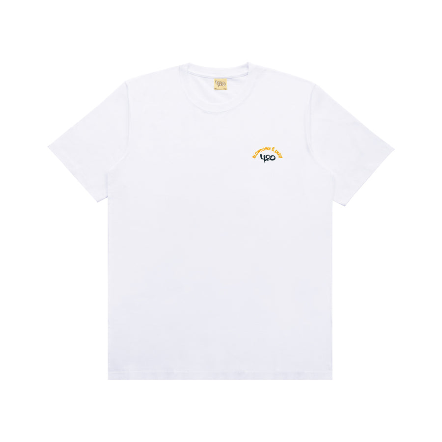 T-Shirt Combi Enjoy White