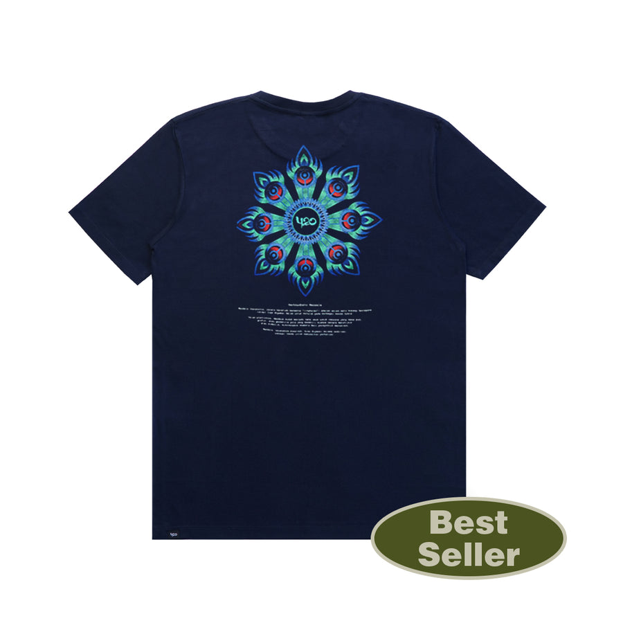 T-Shirt Philosophy Mandala Navy