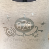 G2G Cinderella Coach Inspired Tank Top - Princess Slumber Party Top