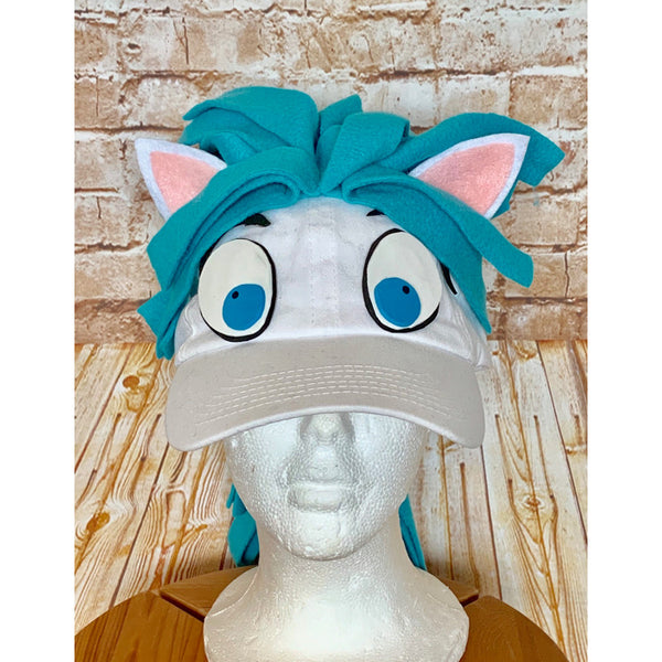 Pegasus Costume Hat & Tail Set - Hercules Inspired Accessories
