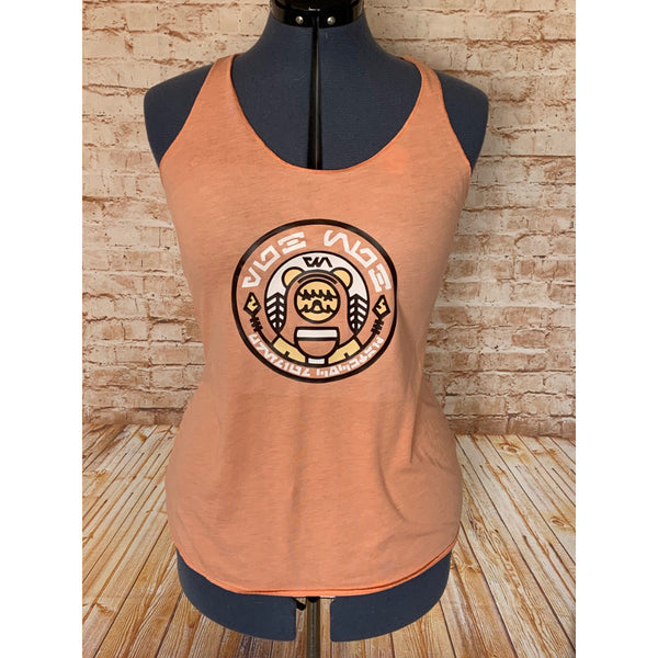 Ewok Beer Label Inspired Tri-Blend Tank Top