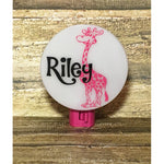 Personalized Giraffe Night Light