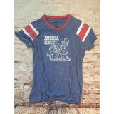 America Sings Red, White & Blue Fitted Women's Tee