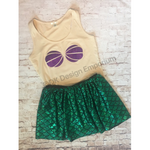 Ariel Inspired Mermaid Running Costume