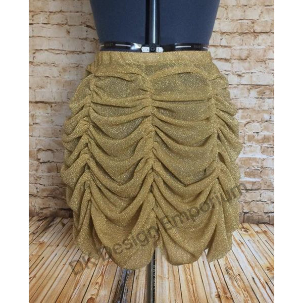 Gold Princess Running Skirt